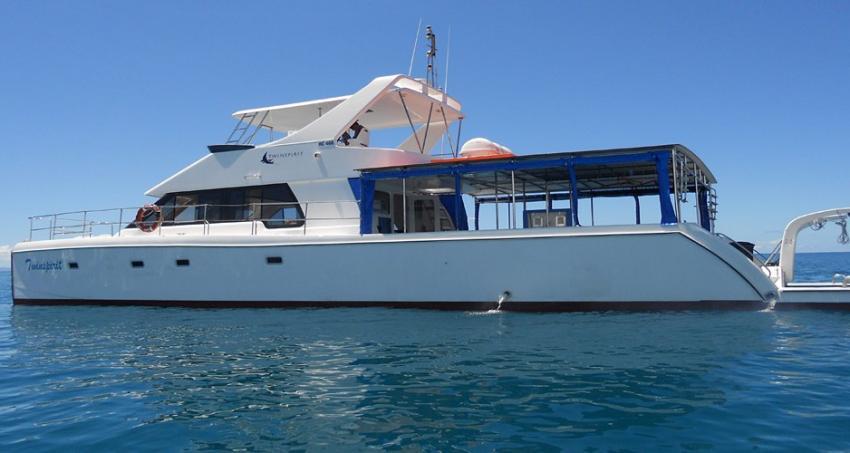 Twin Spirit, TREK Divers, Seychellen