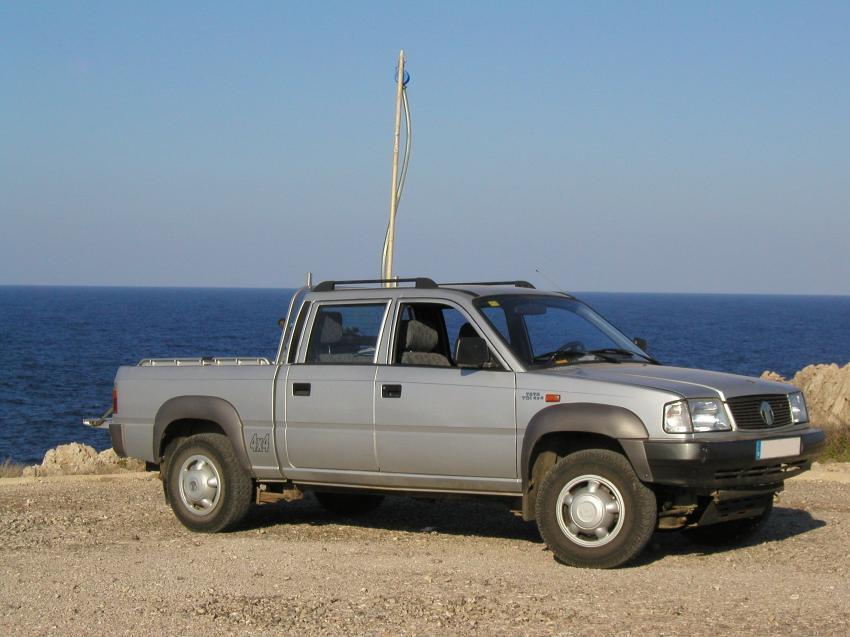 Menorca, Menorca,Spanien,Pick-up,Transporter,Auto