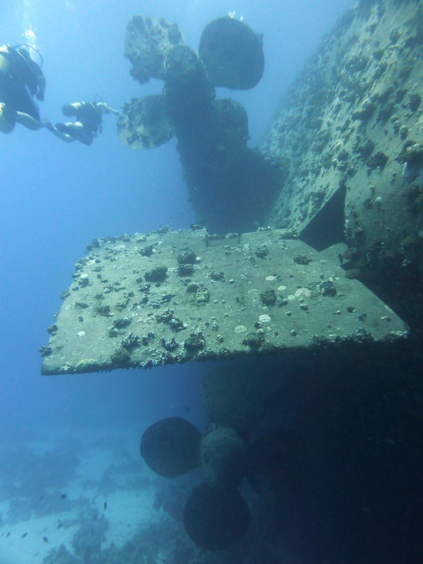 Hausriff und Tobia-Reef, Safaga Magic Divers,Ägypten,Wrack,Schraube