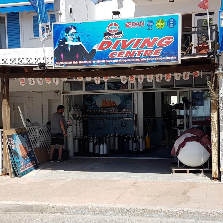 5 Star Dive Center PADI, Arian Diving Center, Kos, Kardamena, Griechenland