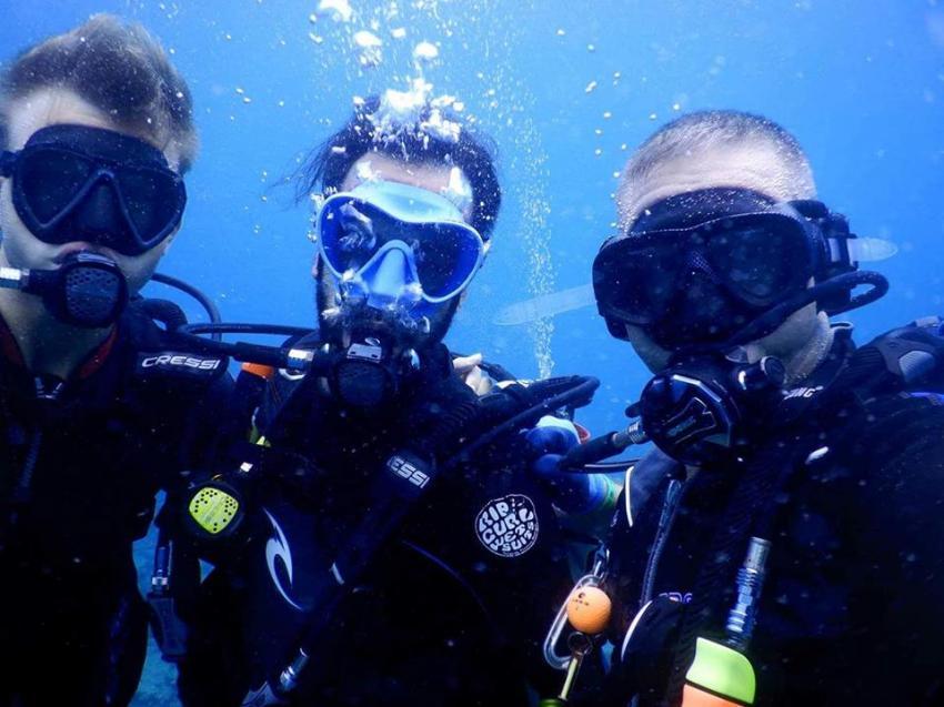 barefoot diving, training, The Barefoot Diving Center, Hanimadhoo, Malediven