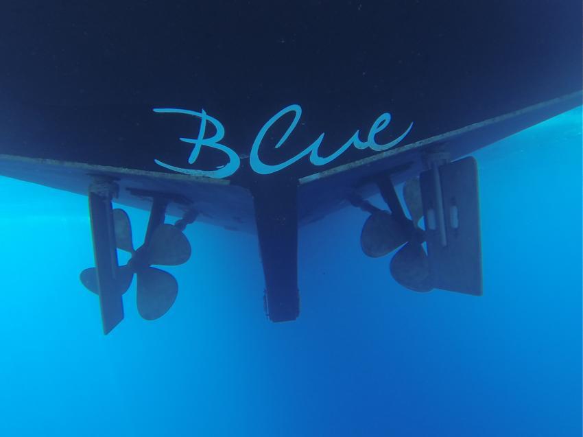 Blue Water, M/Y Blue, Ägypten