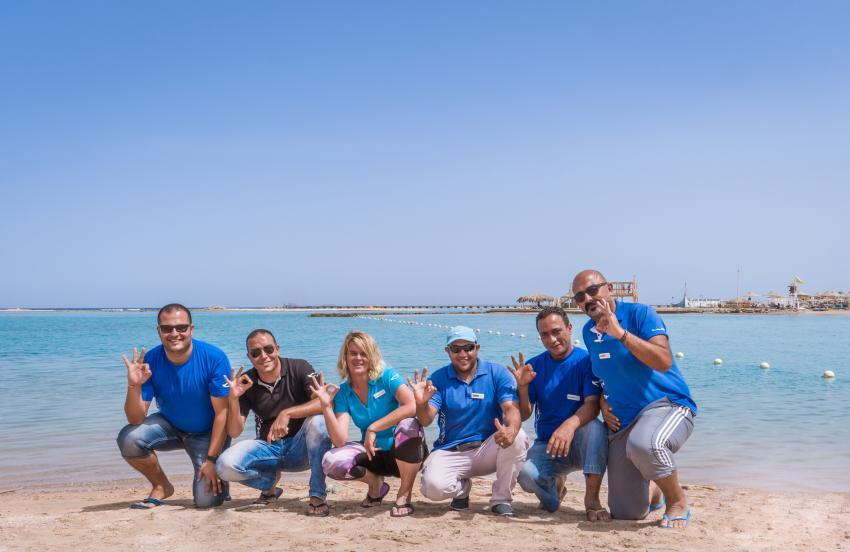 SWD Labranda Makadi Bay Team, Tauchen in der Makadi Bay, Scuba World Divers Makadi Bay, Ägypten, Hurghada