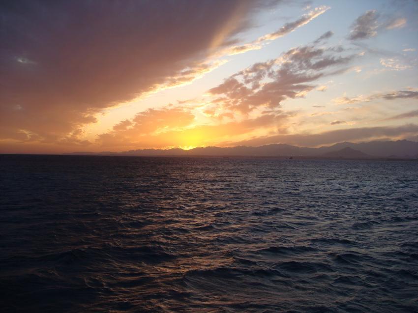 Nordtour von Hurgada bis Ras Mohammed, Nordtour von Hurgada bis Ras Mohammed,Ägypten,Sonnenuntergang