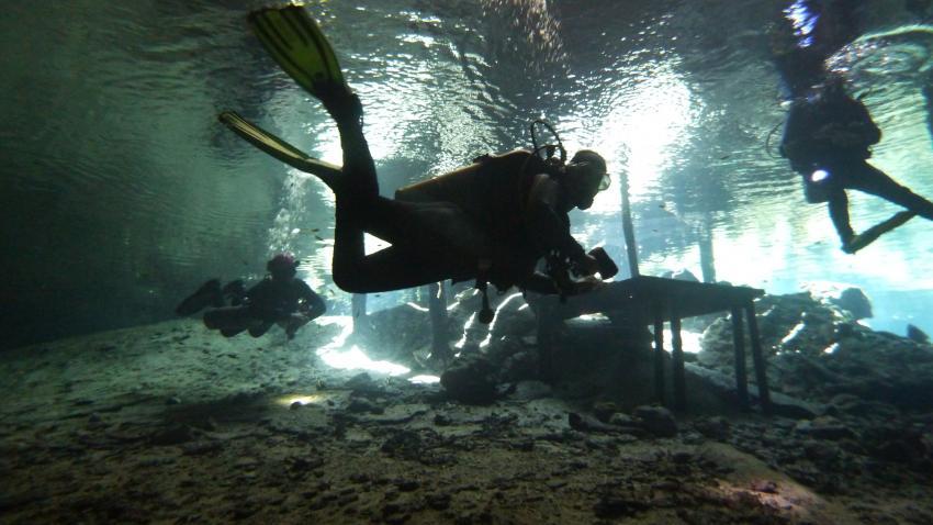 Dripstone Diving, Playa del Carmen, Mexiko