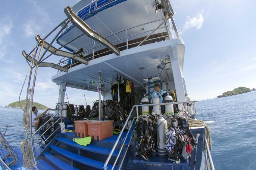 Khao Lak Explorer Dive Center, Thailand, Andamanensee