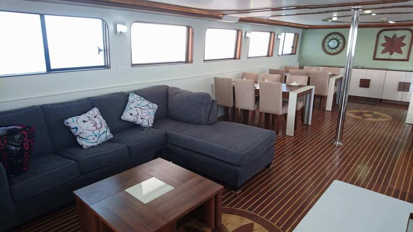 Saloon, M/Y Sea Friend, Ägypten