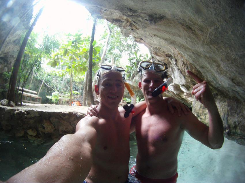 Nachm Tauchgang noch ne Runde geschnorchelt :P, Deep Dive Mexico, Mexiko