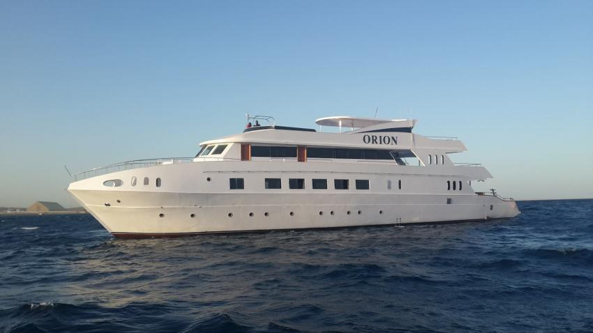M/Y Orion, Mirage Marine Fleet, Ägypten