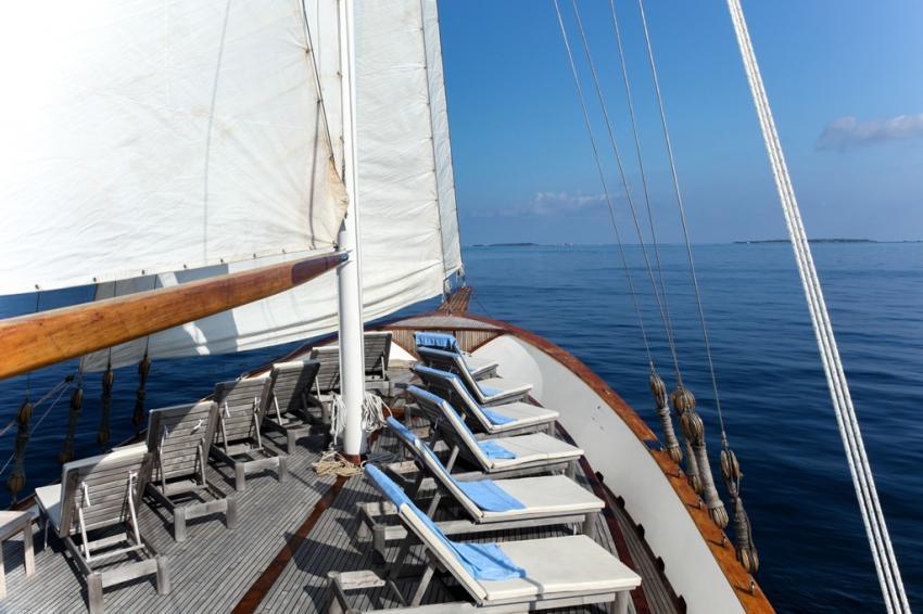 S/Y Dream Voyager, Malediven