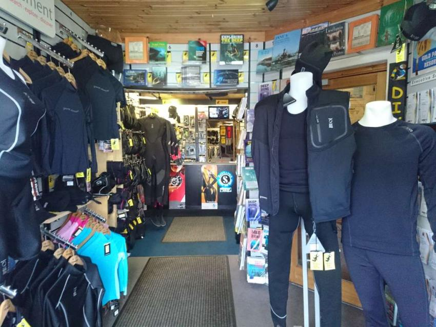 Puffin Dive Centre, Oban, Scotland, Puffin Dive Centre, Oban, Scotland, Puffin Diving Center, Großbritannien, Schottland