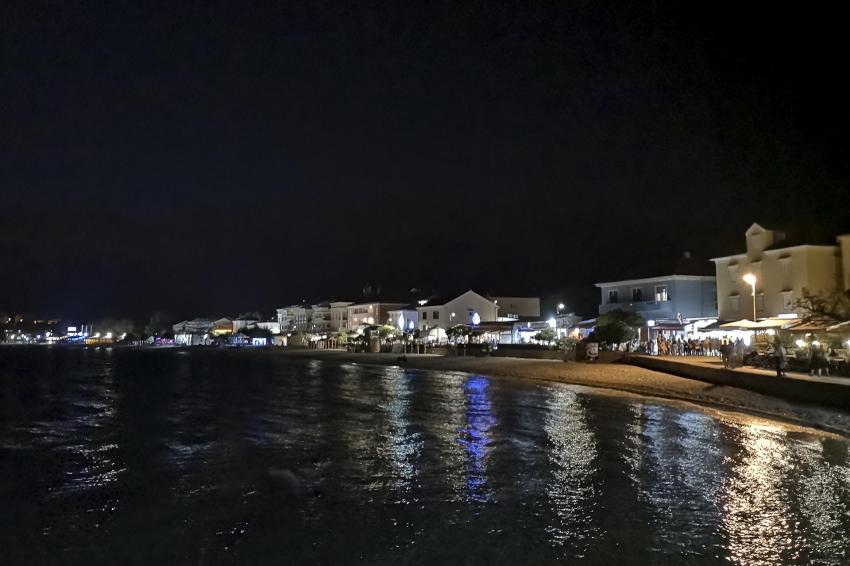 Baska am Abend, Squatina Diving, Insel Krk - Kroatien - Baska, Kroatien