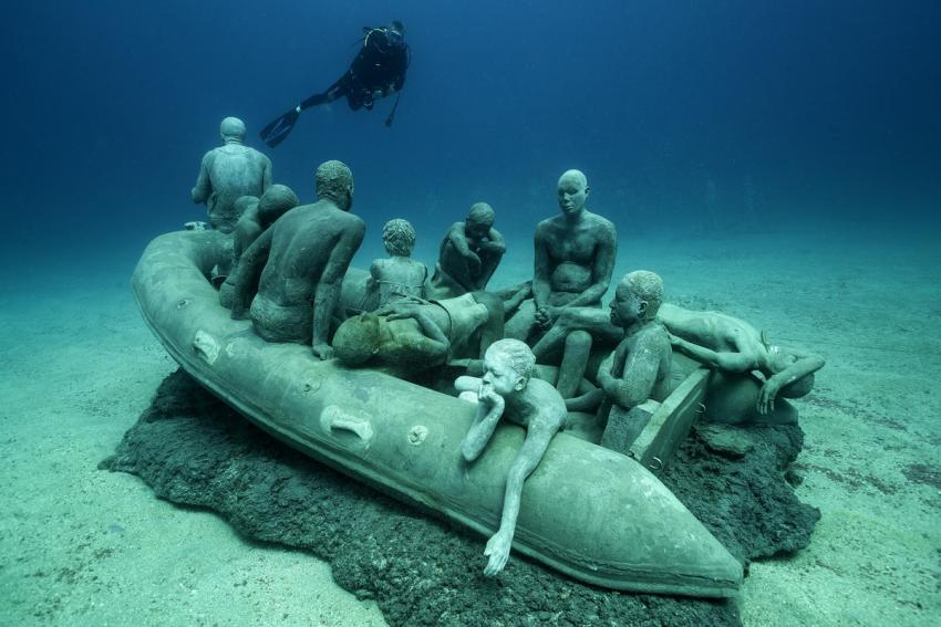 Lanzarote - Playa Blanca - Museo Atlantico, Spanien, Kanaren (Kanarische Inseln)