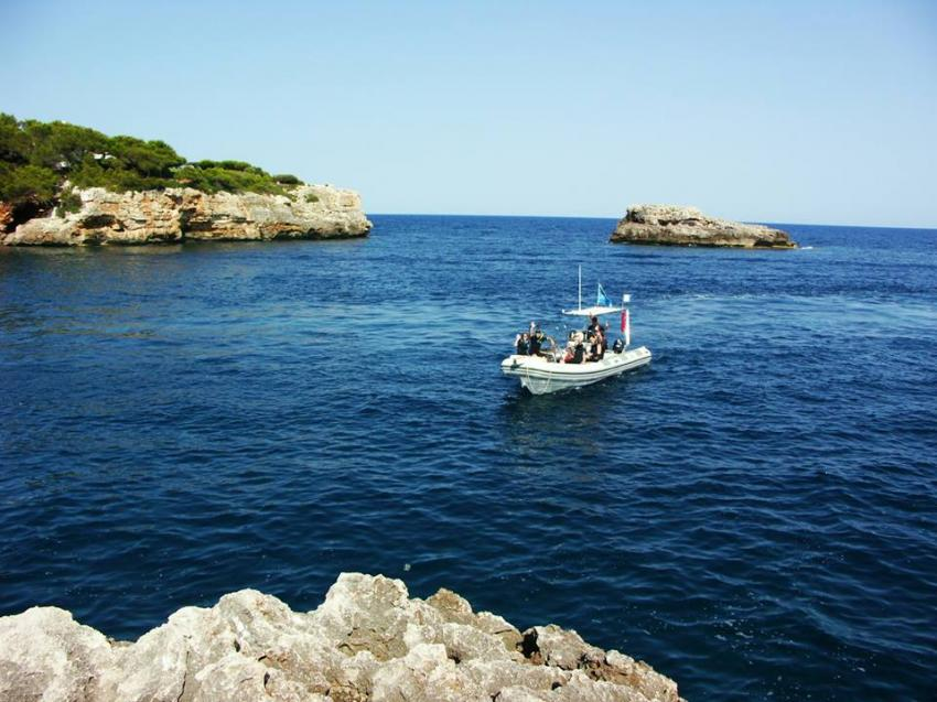 MDS Michaels Diving School, Cala Serena, Mallorca, Spanien, Balearen