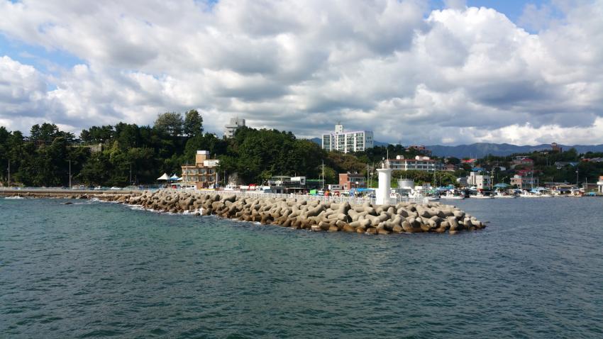 Namae Hafen mit Tauchbasis, Namae Scuba, Südkorea