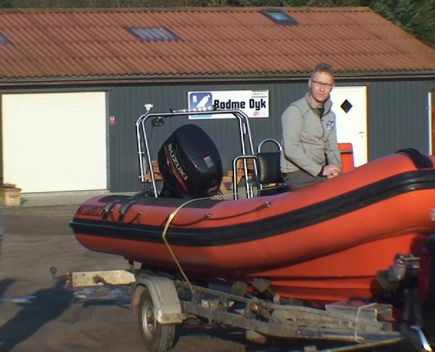 Unser Chef und boot., Rødme Dyk, Stenstrup, Dänemark