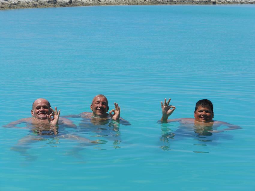 during a break between dives, Aquaventure, Addu-Atoll, Malediven