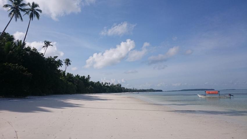 Unser Strand, Beach Strand, Kei Pirate Divers, Indonesien, Allgemein