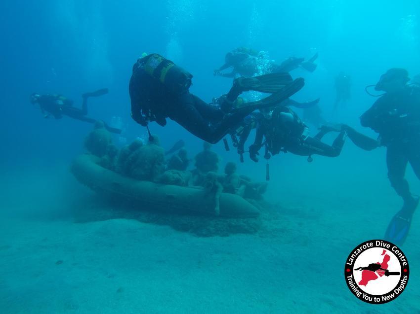 Museo Atlantico, Museo Atlantico, Lanzarote, Playa Blanca, Lanzarote Dive Centre, Puerto del Carmen, Spanien, Kanaren (Kanarische Inseln)