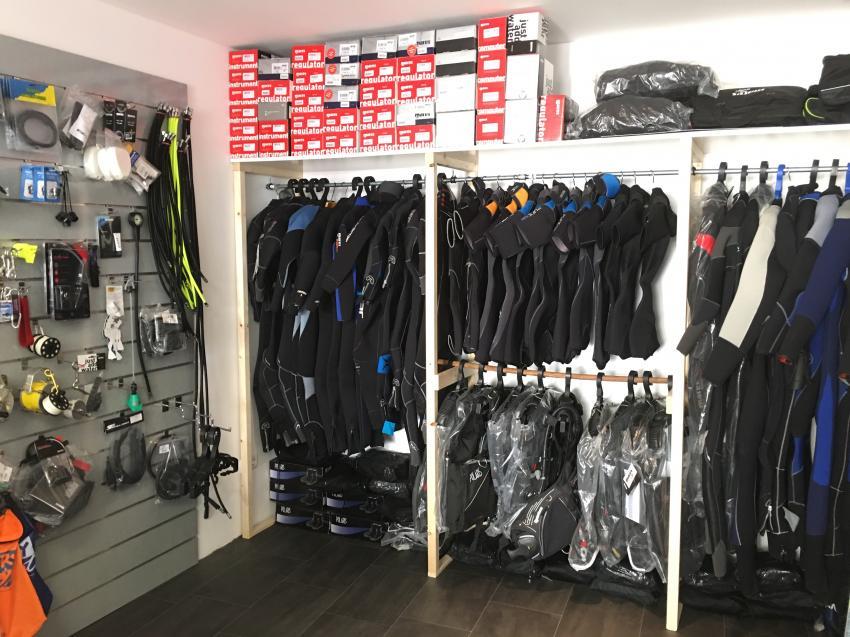 shop, Neopren, JensHaakDivingSchool, Deutschland, Niedersachsen