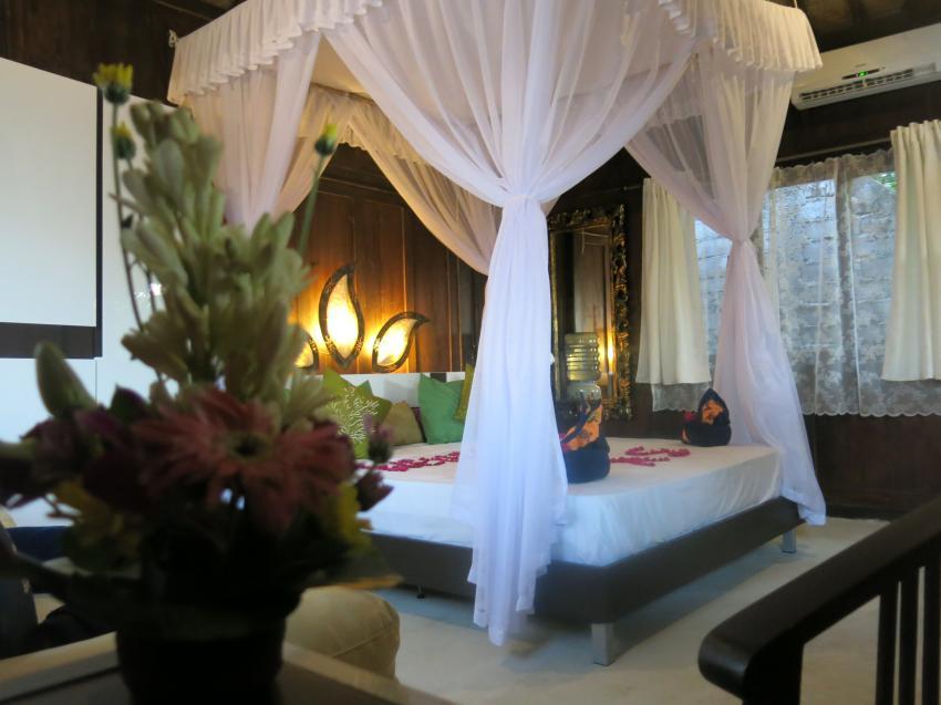 Buddha Appartment, Holzbungalow, Tauchbasis, Unterkunft, Bali, Amed Scuba Tauchzentrum, Amed - Tulamben, Indonesien