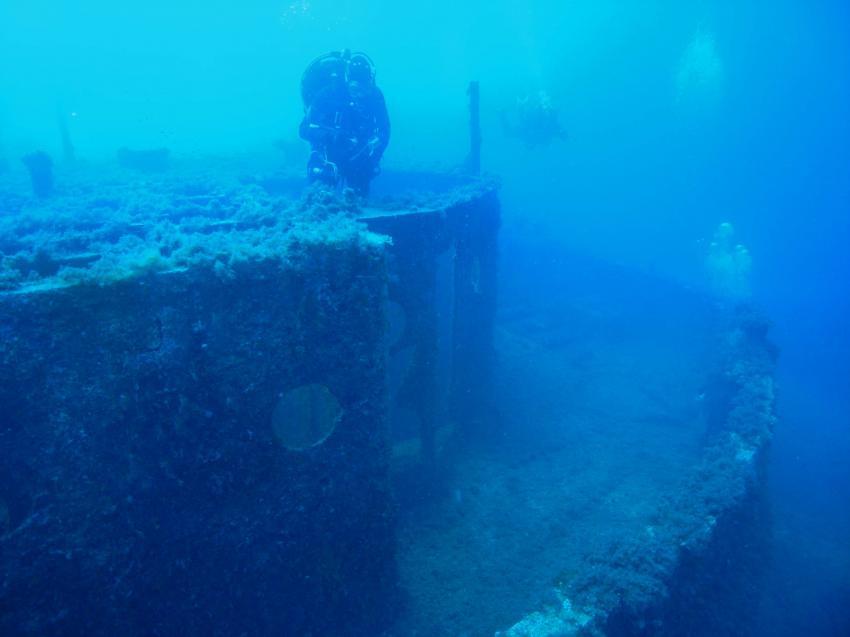 Popeye´s Schiff, Wrack Popeye´s Barge,Malta