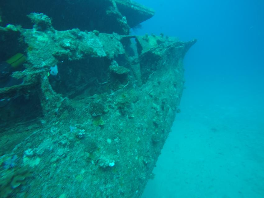 Wracktauchen, Dive Spirit, Mauritius