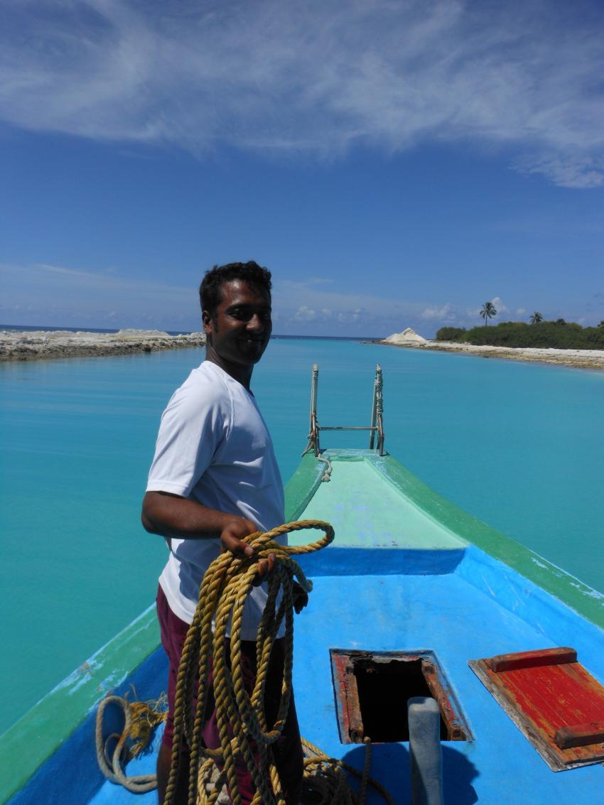 on the way..., Aquaventure, Addu-Atoll, Malediven