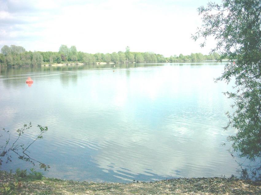 Xantener Nordsee, Xantener Nordsee,Nordrhein-Westfalen,Deutschland,Einstieg,Ufer,See