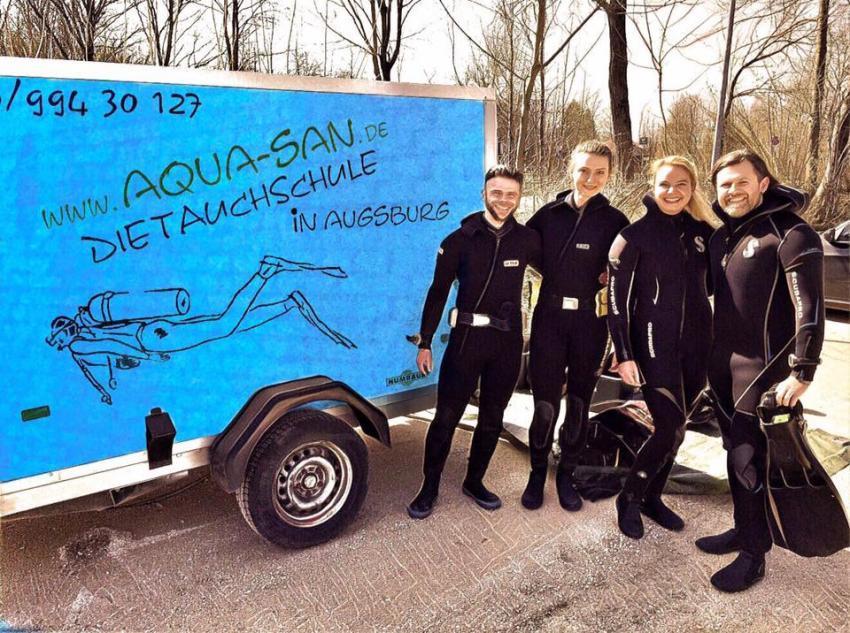 Aqua San Tauchschule Augsburg - Rescue Diver Kurs, Tauchschule Augsburg, Tauchen Augsburg, Rescue Diver Kurs Augsburg, Tauchen lernen Augsburg, AQUA-SAN die Tauchschule in Augsburg, Deutschland, Bayern