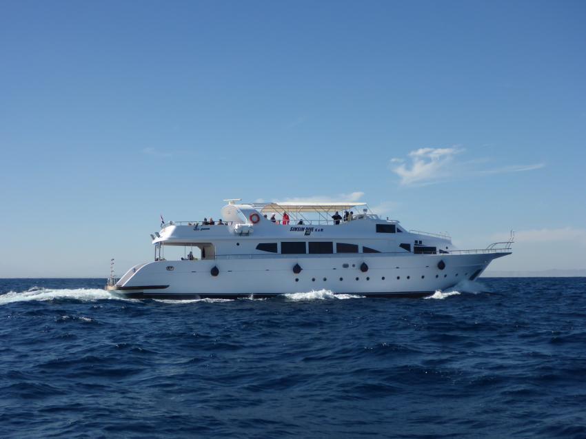 SimSim Dive während der Fahrt, Ägypten, Hurghada, Tauchsafaris, Tauchen, Salon, Angebote, Rotes Meer, SimSim, Red Sea, SimSim Dive
