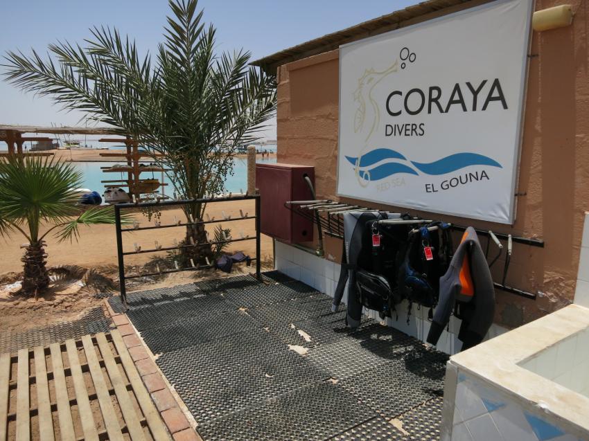Coraya Divers, Club Paradisio, El Gouna, Ägypten, Hurghada