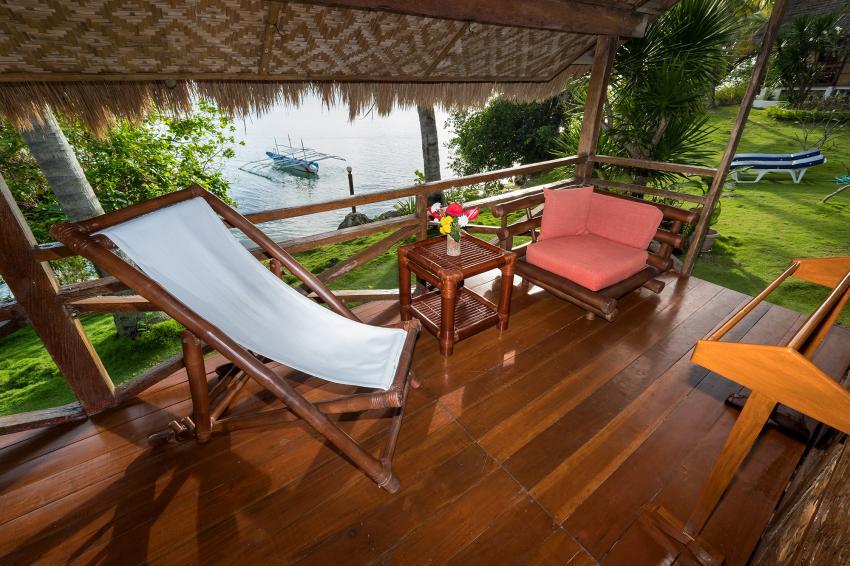 Ruhe & Erholung @Sampaguita, Entspannen Tauchen Relaxen Nicht-Taucher Natur Aussicht, Sampaguita Resort Hotel, Tongo Point, Maolboal, Cebu Island, Philippinen
