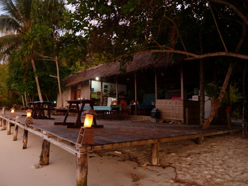 Restaurant, Yenkoranu Homestay+Diving, Indonesien, Allgemein