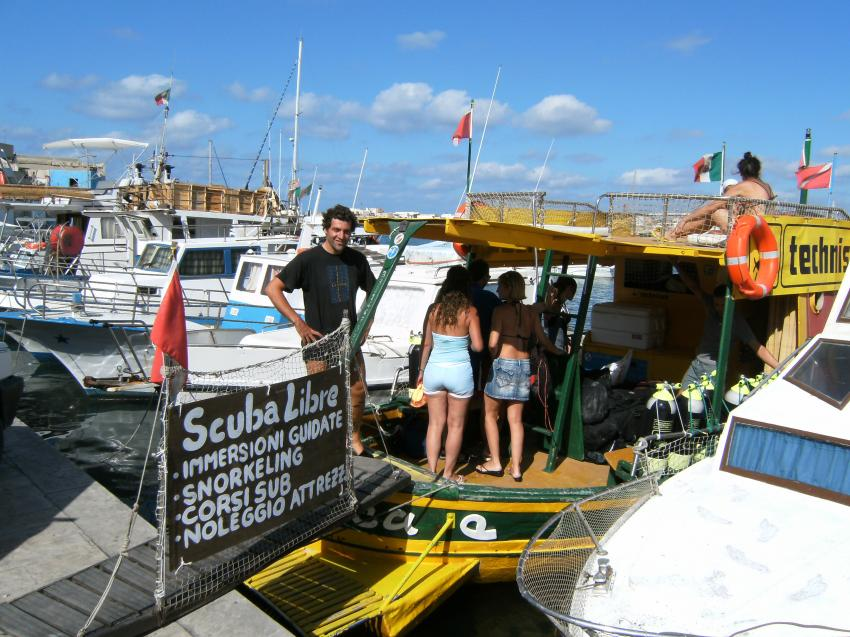 Lampedusa - with Scuba Libre, Lampedusa,Italien