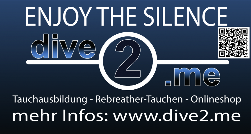 Dive2.me der Tauchshop, Tauchshop, Tauchershop, Tauchausbildung, Rebreather, Protec, Dive2.me der Tauchshop - Enjoy the Silence, Berne, Deutschland, Niedersachsen