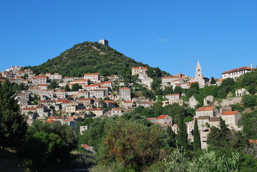 Insel Lastovo, Insel Lastovo,Kroatien,Lastovo,Stadt