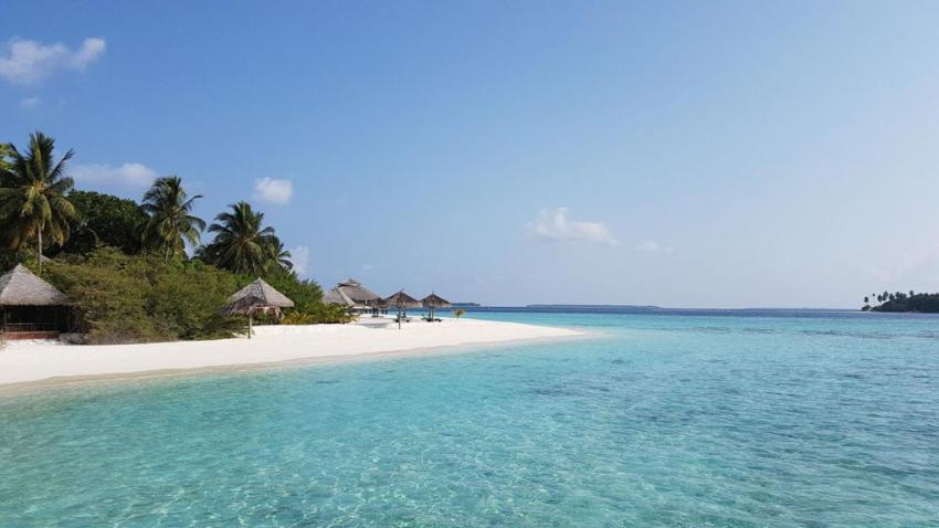 Strand & Lagune, Strand, Ocean Dimensions, Kihaa Maldives, Baa Atoll, Malediven