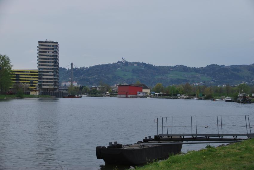 Am Winterhafen, Hotel Steigenberger, Linz, Österreich