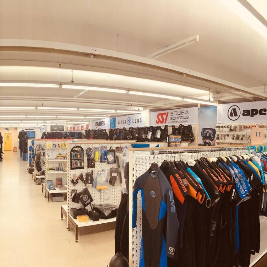 Shop - Verkauf, DiveZone, Baden, Schweiz