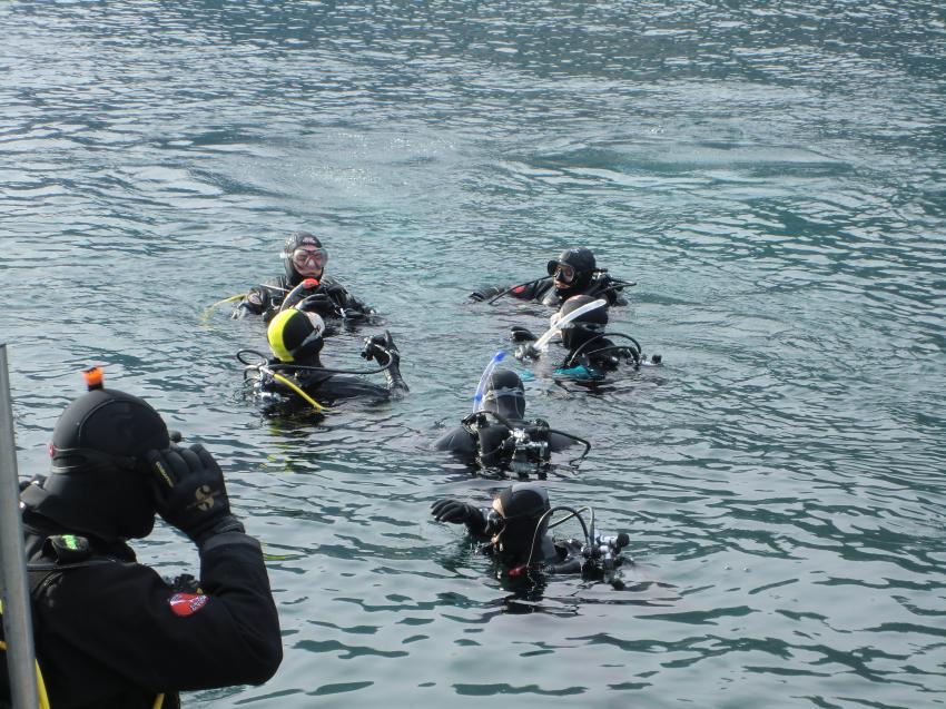 Gardasee Silvester-Tauchen , Sportdiver Club, Assenza di Brenzone, Italien