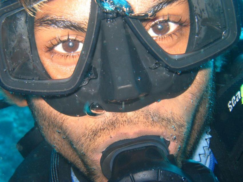 Vilu Reef, Vilu Reef,Malediven,guide,gesicht,maske,augen