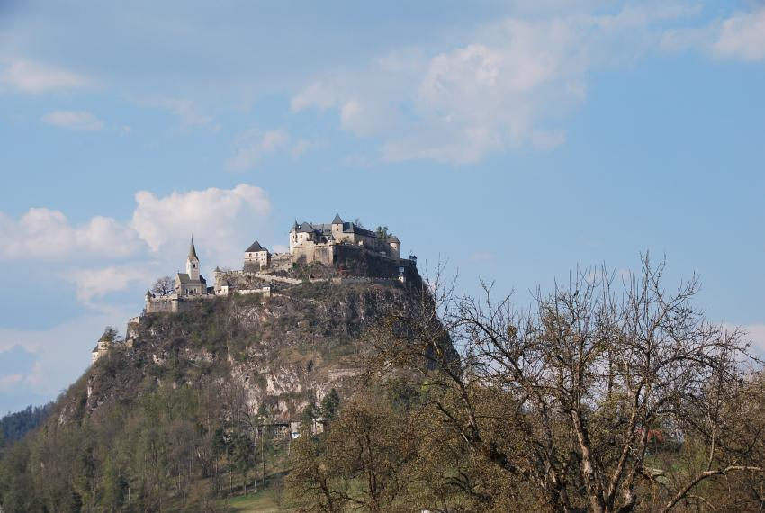 Burg Hochosterwitz, Kunsthotel Fuchspalast, St. Veit an der Glan, Österreich