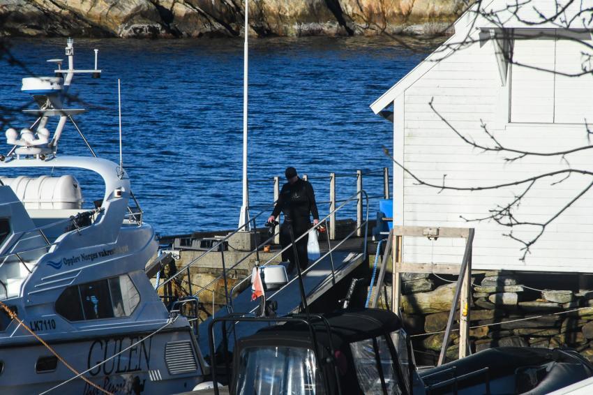 Gulen DykkeSenter, Norwegen