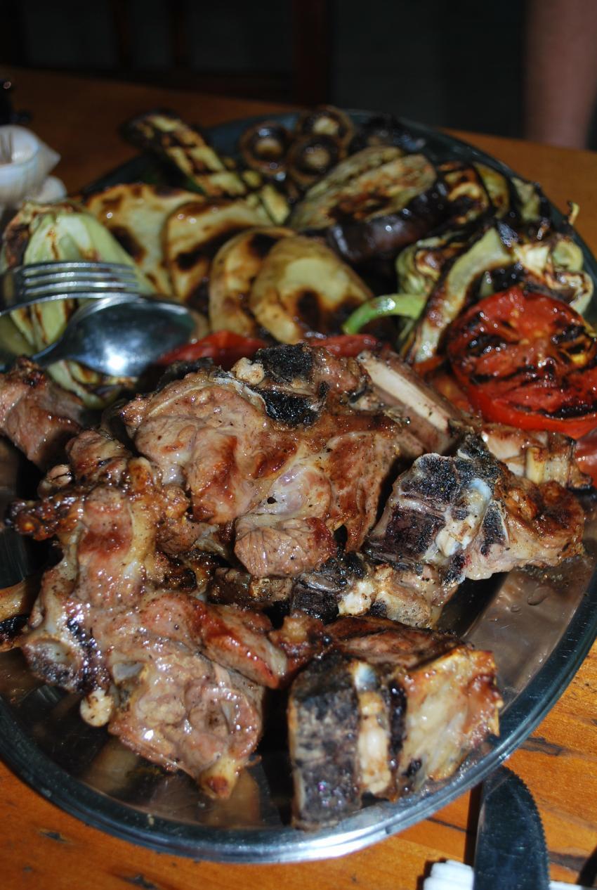 Insel Vis, Insel Vis,Kroatien,Tauchen macht hungrig! Mahlzeit!