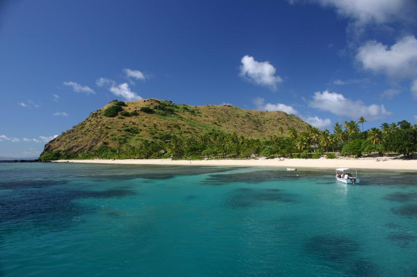 Yasawas/Oarsmans Bay, Yasawas,Naviti,Fidschi,Insel,Berge,Palmen