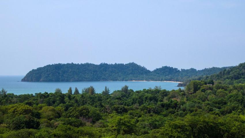 Koh Phayam Buffalo Bay - Hügelaufnahme, Koh Phayam, payam, Tauchen, Thailand, Tagestour, Richelieu Rock, Aladdin Dive Safari (Koh Phayam Island), Andamanensee
