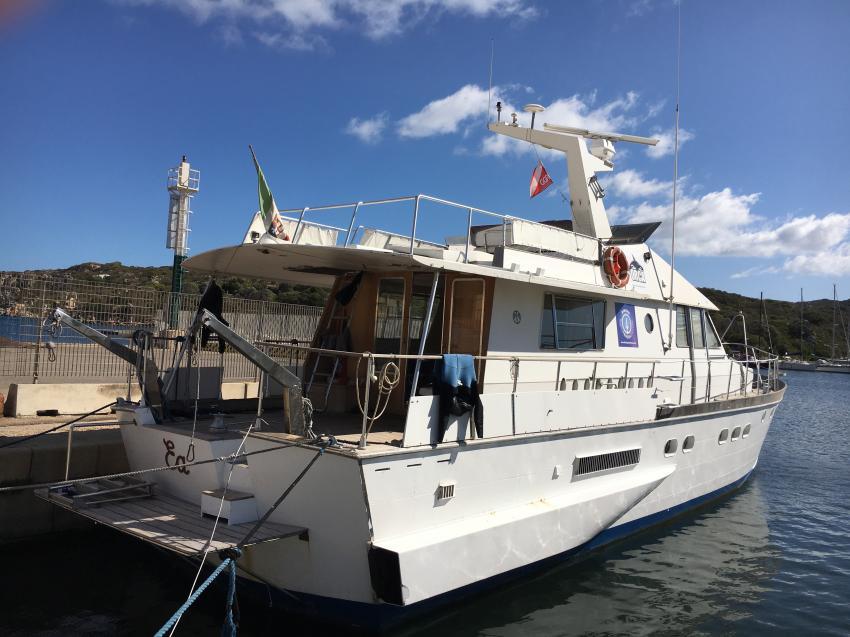 Tagesboot, ORCA Dive Club Sardinien, Santa Teresa di Gallura, Italien, Sardinien