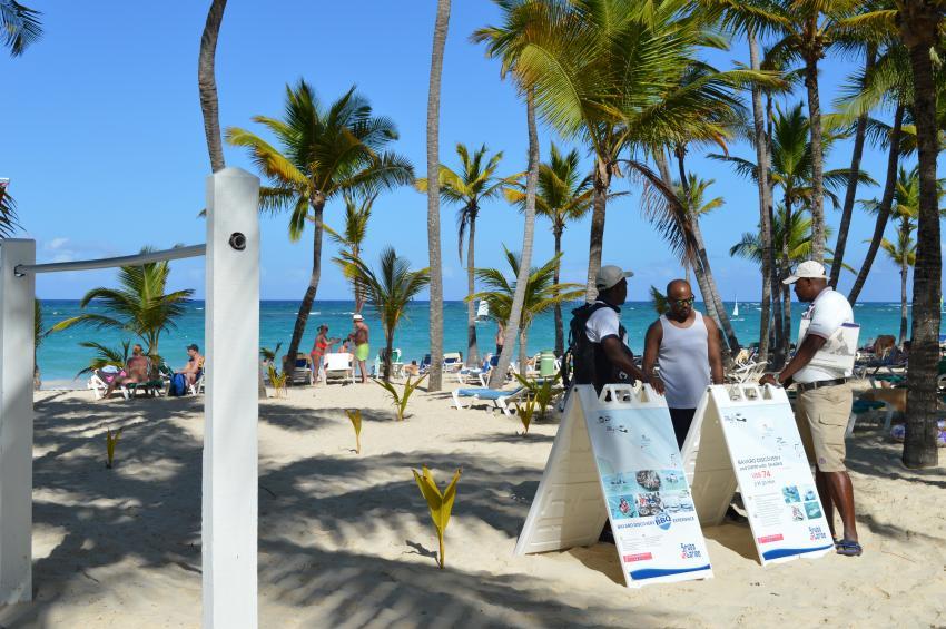 ScubaCaribe RIU Bambu - Strand, ScubaCaribe Punta Cana - RIU Hotels, Dominikanische Republik