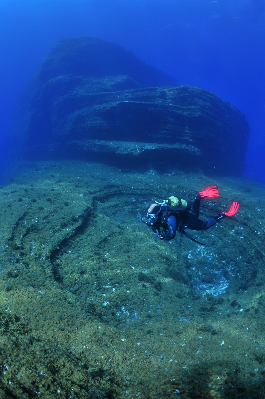 "Top Tauchplatz ""El Bajon"", Extra Divers El Hierro, Spanien, Kanarische Inseln"